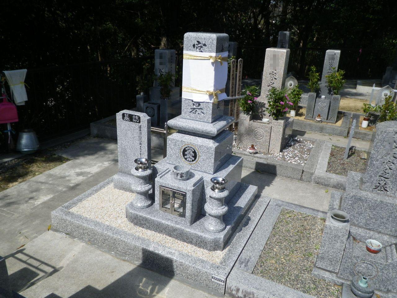 高級型DX墓石②