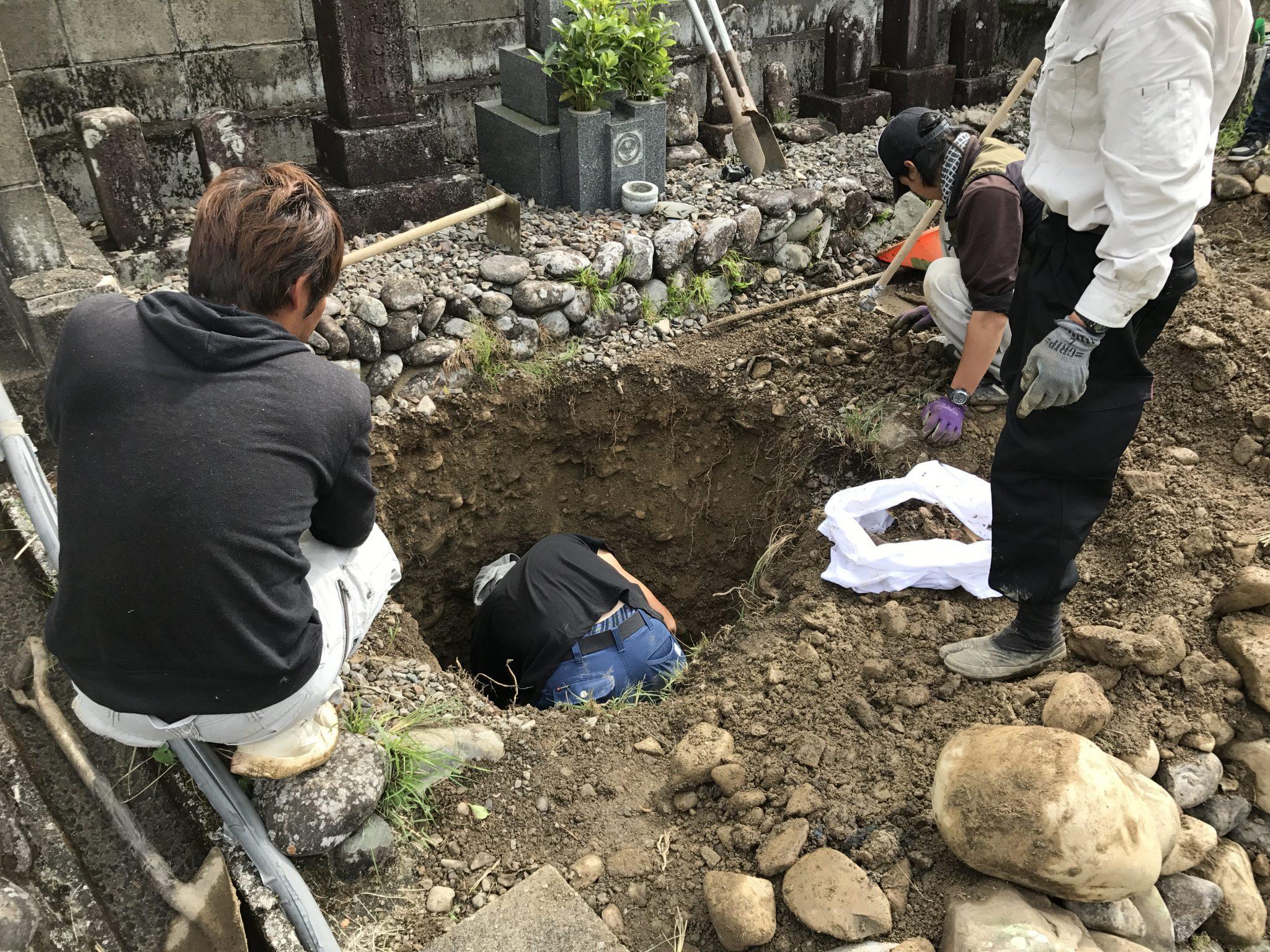 Q.お墓じまい・お墓のお引越しはして頂けるのでしょうか?