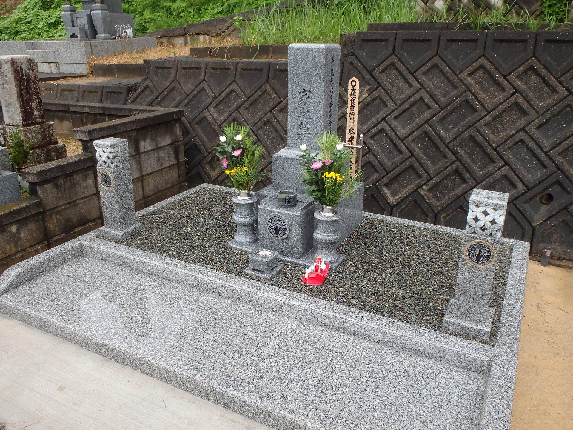 高級型墓石②