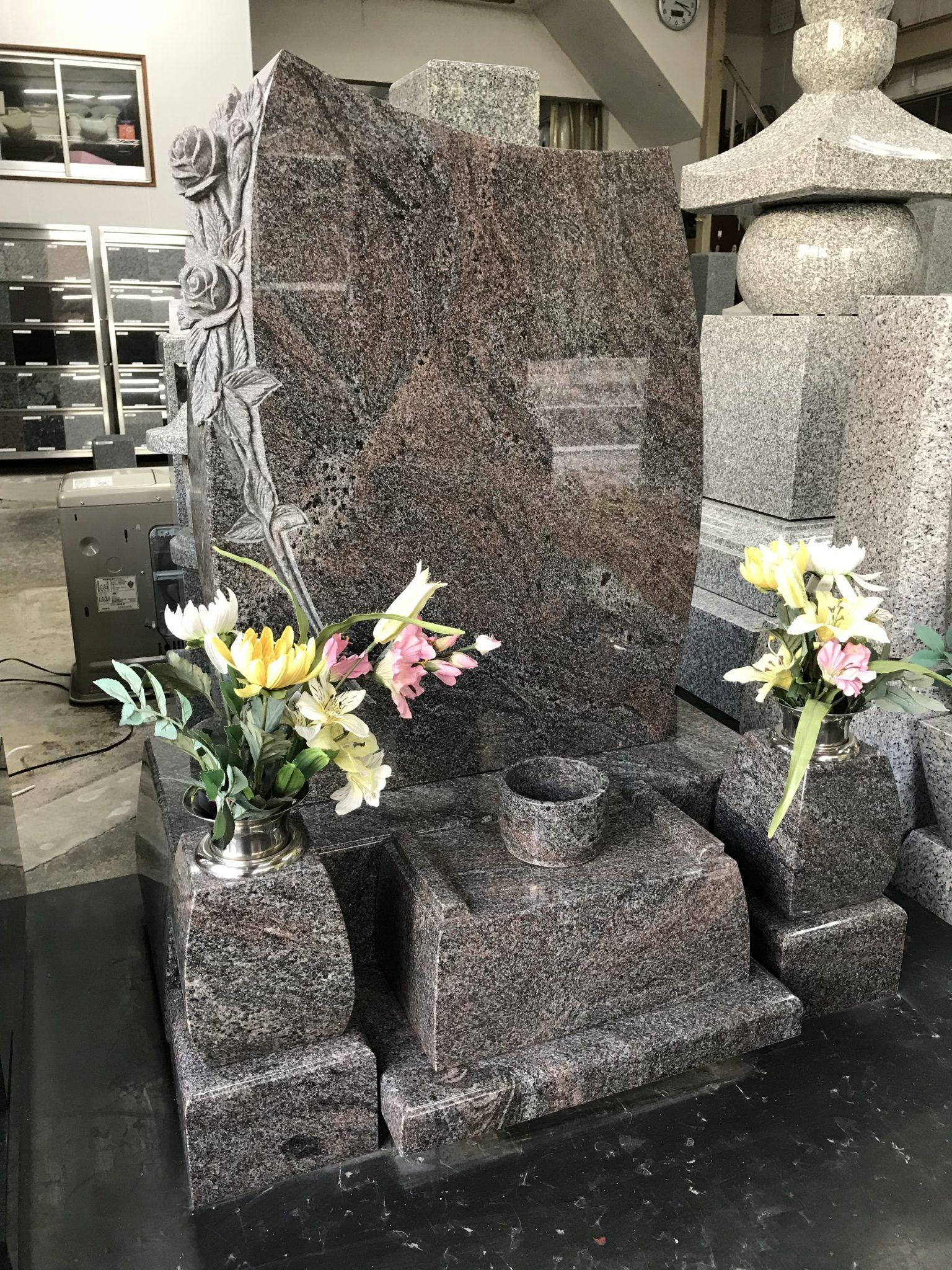 現代墓石 ローズ